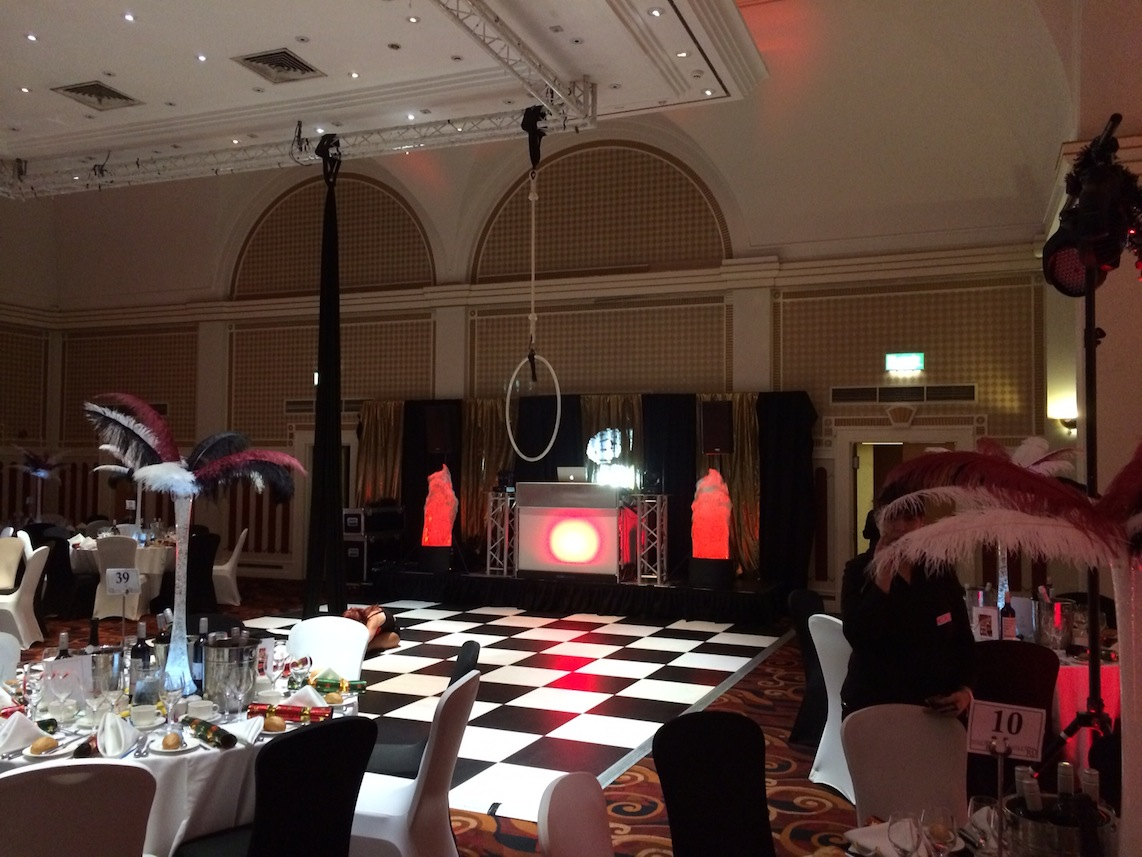 Queens Hotel Banquet Showcase, DJ Hire Leeds