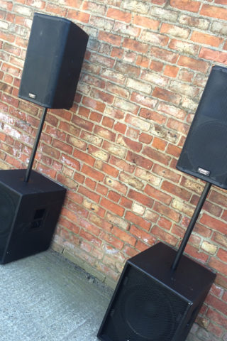 Speaker Hire | PA System Hire | Sound System Hire | York