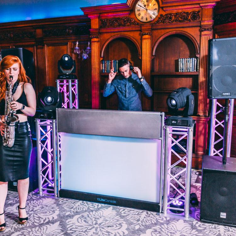 Wedding DJ & Sax