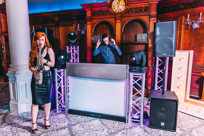 DJ & Sax Duo